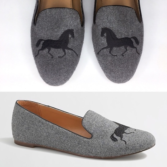 J. Crew Factory Addie Gallop Loafers